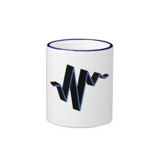 sound wave mug