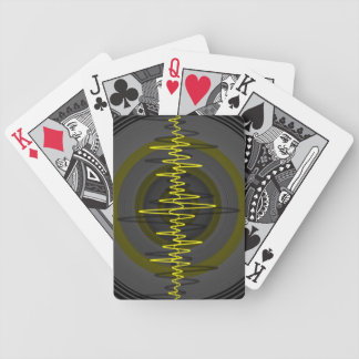 Sound Yellow Dark playing cards vertical