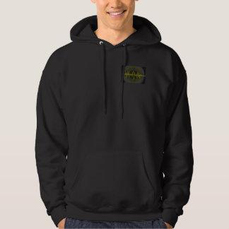 Sound Yellow Dark Sweatshirt pocket & back