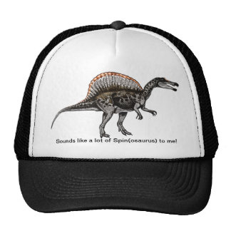 Sounds Like A Lot of Spin(osaurus) - Dinosaur Hat