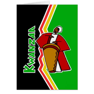 Sounds Of Kwanzaa Kwanzaa Holiday Greeting Cards