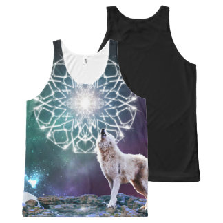 Sounds of the Universe All-Over Print Tank Top