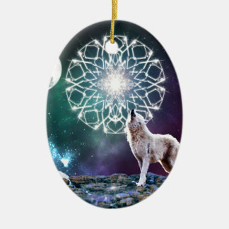 Sounds of the Universe Ceramic Oval Decoration