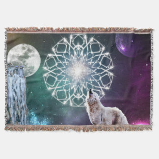 Sounds of the Universe Throw Blanket