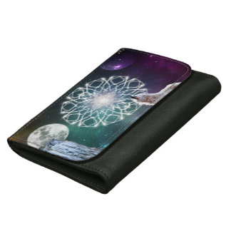 Sounds of the Universe Wallets For Women
