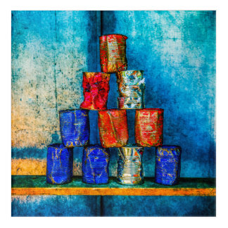 Soup Cans - Square Meal Acrylic Print