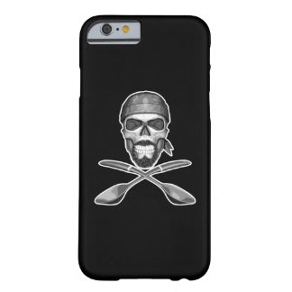 Soup Chef Skull Barely There iPhone 6 Case