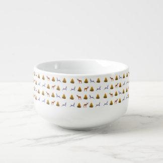 Soup Mug Colorful Christmas