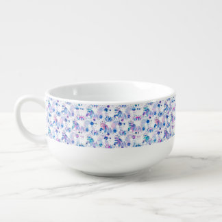 Soup Mug Multicolor Abstract