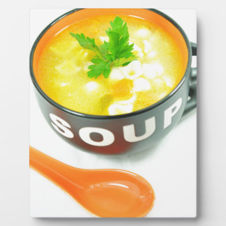 Soup Plaque