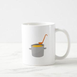 Soup Pot Basic White Mug