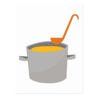 Soup Pot Postcard