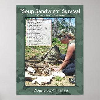 Soup Sandwich Poster