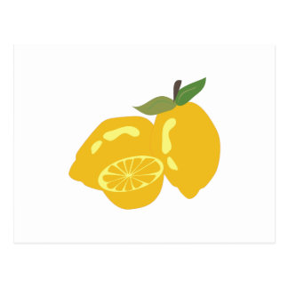 Sour Citrus Postcard
