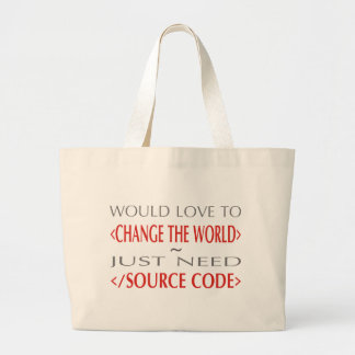 Source Code Canvas Bags