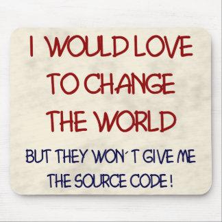 source code mouse mat