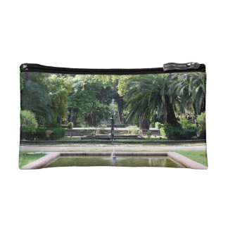 Source in Park of Maria Luisa, Seville Cosmetics Bags