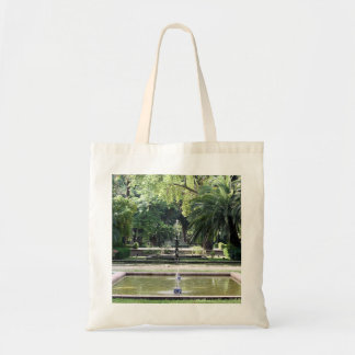 Source in Park of Maria Luisa, Seville Budget Tote Bag
