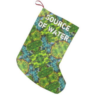 Source Of Water Small Christmas Stocking