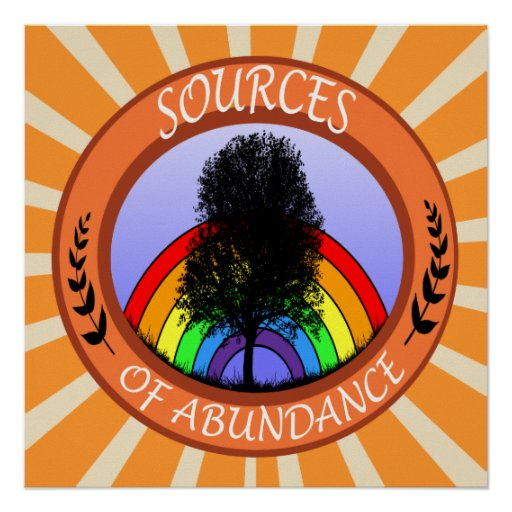 Sources of Abundance Poster