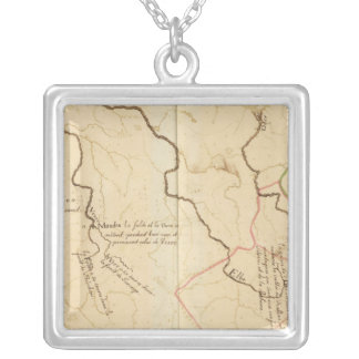 Sources of German Rivers Silver Plated Necklace
