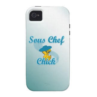 Sous Chef Chick 3 Case-Mate iPhone 4 Cover