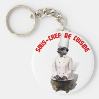 SOUS - CHEF DE CUISINE KEY CHAIN