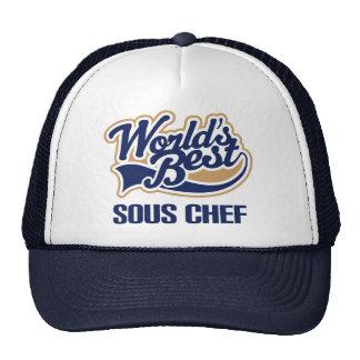 Sous Chef Gift Mesh Hats