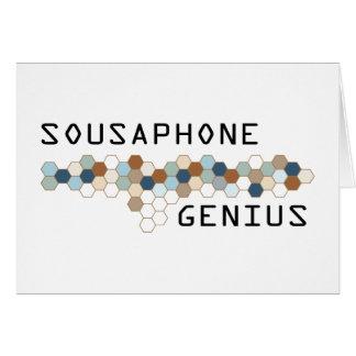 Sousaphone Genius Cards