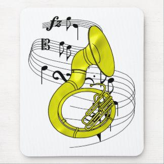 Sousaphone Mouse Pad