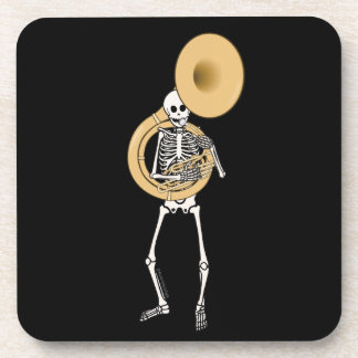 Sousaphone Skeleton Coasters
