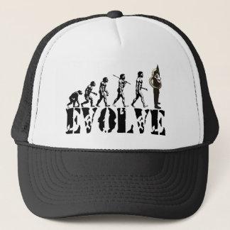 Sousaphone Tuba Tubas Evolution Musical Art Trucker Hat