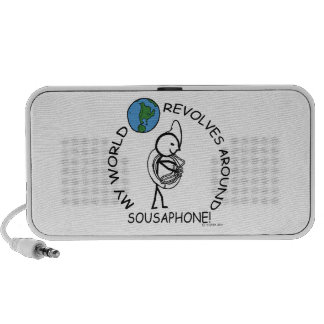 Sousaphone - World Revolves Around Notebook Speakers