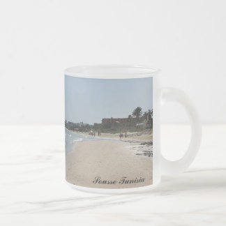 Sousse Tunisia #1 Frosted Glass Coffee Mug