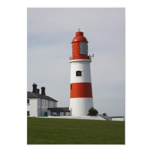 Souter Lighthouse  England Invitation