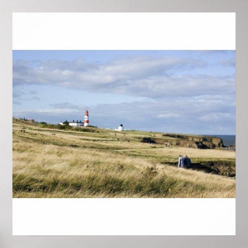 Souter Lighthouse Print