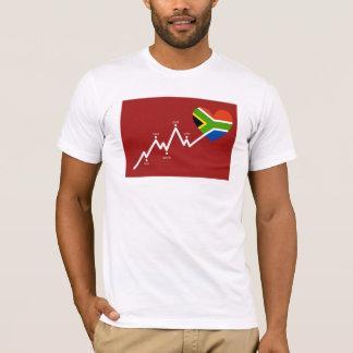 South africa 2010 heartbeat T-Shirt