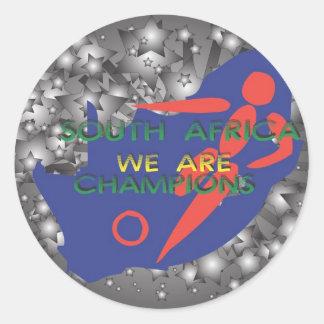 South Africa 2010 Round Sticker