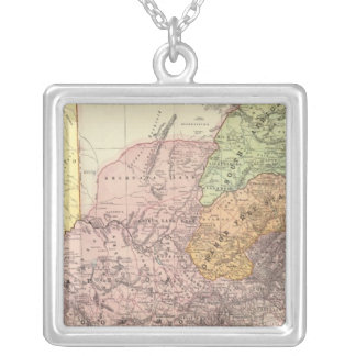 South Africa 5 Silver Plated Necklace