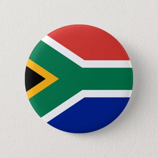 South Africa 6 Cm Round Badge