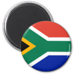 south africa 6 cm round magnet