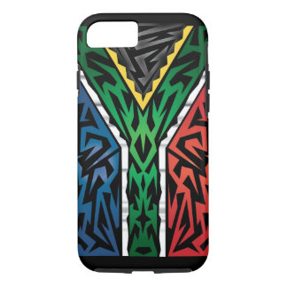 South Africa Abstract iPhone 7 Case