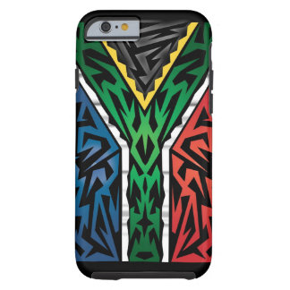 South Africa Abstract Tough iPhone 6 Case
