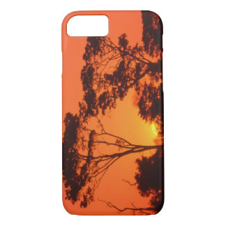 South Africa.  African sunset. iPhone 7 Case