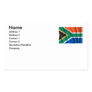 SOUTH AFRICA BUSINESS CARD TEMPLATES