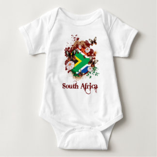 South Africa Butterflies Baby Bodysuit
