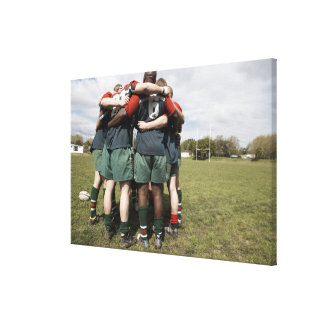 South Africa, Cape Town, False Bay Rugby Club 2 Canvas Print
