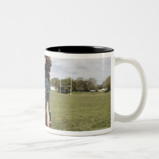 South Africa, Cape Town, False Bay Rugby Club 2 Coffee Mugs