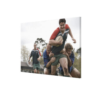 South Africa, Cape Town, False Bay Rugby Club Canvas Print