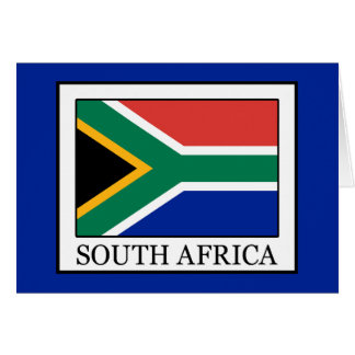 South Africa Card